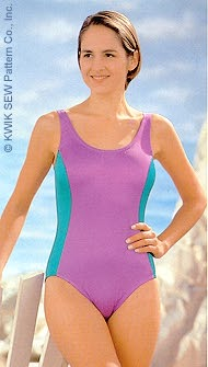 Kwik Sew Misses Swimsuits 2139