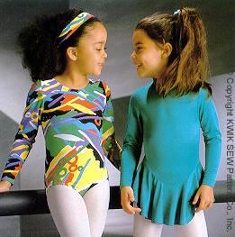 Kwik Sew Girls Leotards 2177