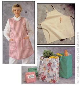 Kwik Sew Crafts Aprons & Bags 2191
