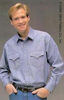 Kwik Sew Western Shirt 2272