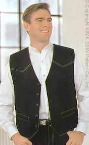 Kwik Sew Men Vest 2314