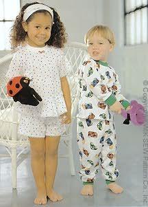 Kwik Sew Toddlers' Pajamas 2315