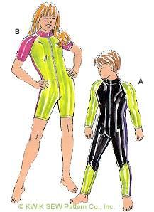 Kwik Sew Swimsuits 2336