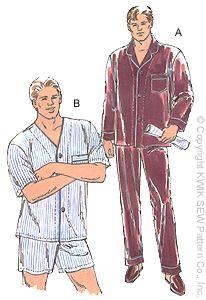Kwik Sew Men's PJ 2388