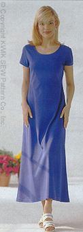 Kwik Sew Knit  Dresses 2518
