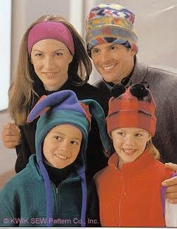 Kwik Sew  Hats and Socks  (Adult & Children sizes) 2527