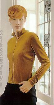 Kwik Sew Misses T shirts/Pullovers 2565