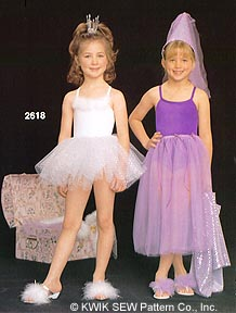 Kwik Sew  Costumes 2618
