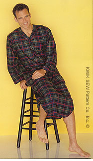 Kwik Sew Men's Nightshirt 2650