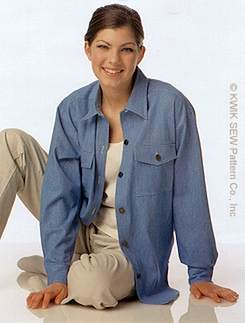 Kwik Sew Big Shirts 2674