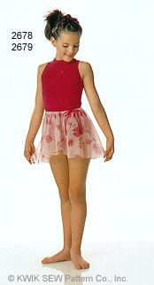 Kwik Sew Girls' Dance Attire 2678