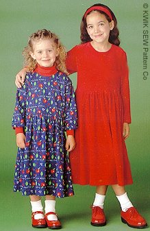 Kwik Sew Girls Dress 2708