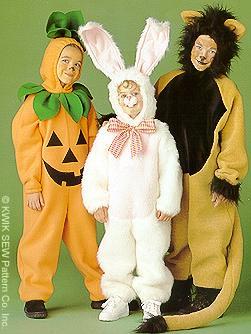 Kwik Sew  Children's Costumes 2711
