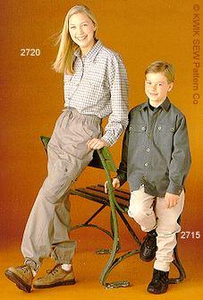 Kwik Sew Cargo pants 2720