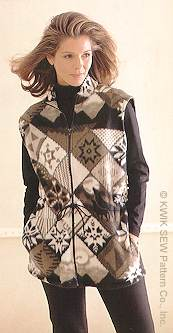 Kwik Sew Misses' Vest 2731