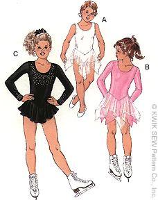 Kwik Sew Girls  Leotards 2732