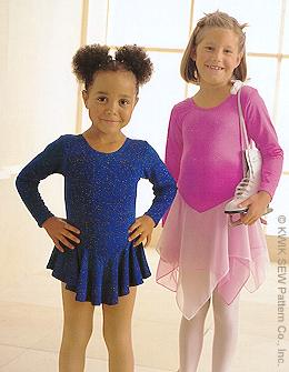 Kwik Sew Girls  Leotards 2732