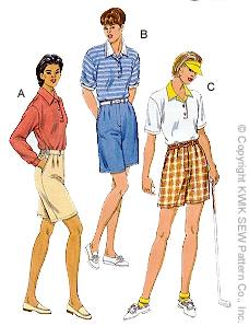 Kwik Sew Misses Shorts and Shirts 2765