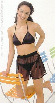Kwik Sew Misses Bikinis & Shorts 2769
