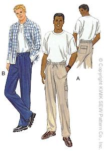 Kwik Sew mens pants 2776