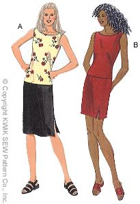 Kwik Sew Misses Skirts and Tops 2782