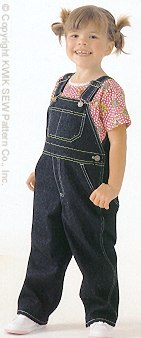 Kwik Sew Toddlers Overalls 2785