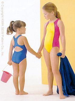 Kwik Sew Girls' Swimsuits 2789