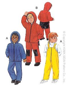Kwik Sew Toddlers' Overalls and Jackets 2793