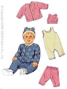 Kwik Sew Baby Cardigan 2794
