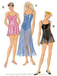 Kwik Sew Misses Leotards 2796