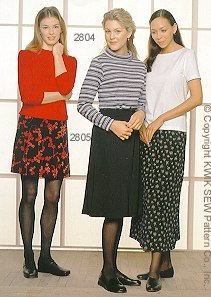 Kwik Sew Misses Skirts 2805