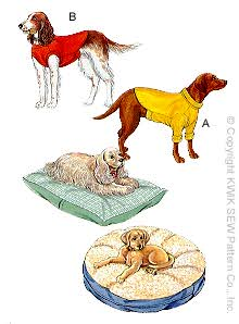 Kwik Sew Crafts Pet Pillows and Coats 2813