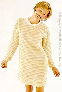 Kwik Sew Misses' Nightshirts 2821