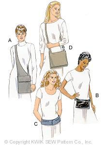Kwik Sew Bags 2831