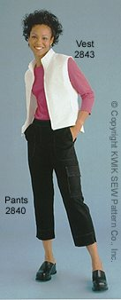 Kwik Sew Misses Pants and Shorts 2840