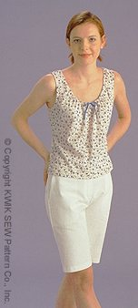 Kwik Sew gathered neck peasant tops 2845