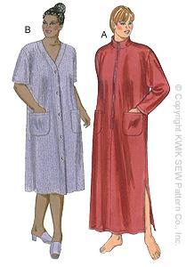 Kwik Sew Women Robes 2862