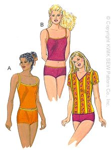 Kwik Sew Misses' Tankini Swimsuit 2868