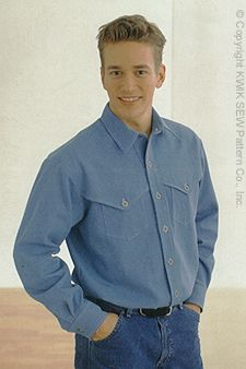 Kwik Sew Men Shirts 2880