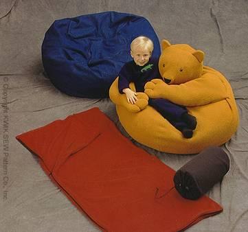 Kwik Sew Stuff bags, beanbags 2892