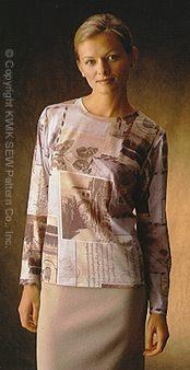Kwik Sew Misses' t-shirts & turtleneck 2900