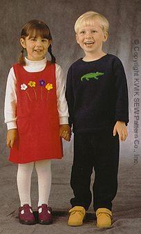 Kwik Sew Toddlers Jumper, Shirt & Pants 2912