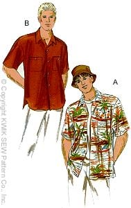 Kwik Sew Men's Shirt 2935