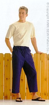 Kwik Sew Men Shirts, Shorts & Pants 2936