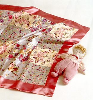 Kwik Sew Blanket, Bibs & Doll 2971