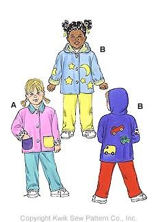Kwik Sew Toddler's Jackets 2994
