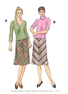 Kwik Sew Misses' Skirts & tops 3003