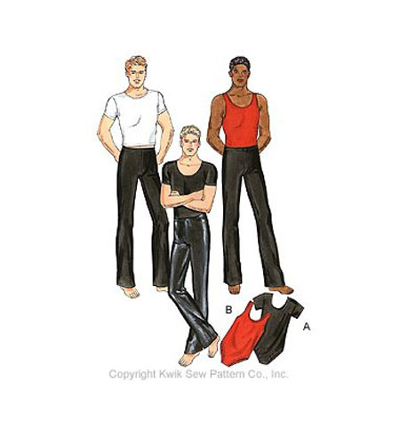 Kwik Sew Men Dance Wear 3029