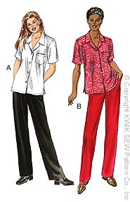 Kwik Sew Misses Pants and Shirt 3041