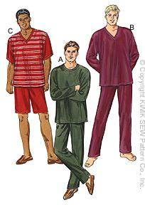 Kwik Sew Pajamas/Loungewear 3044